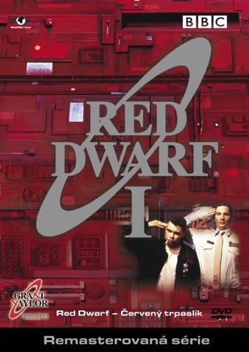 Přední strana přebalu DVD Červený trpaslík I